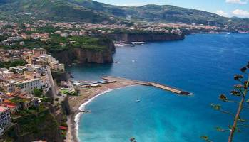 visiting Sorrento from the sea