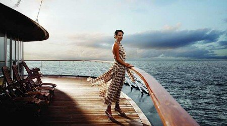 luxury yacht for fashion photo shoots